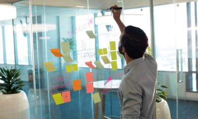 businessman-planning-on-glass-at-office