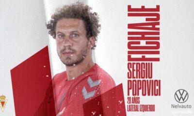 Popovici, jugador del Real Murcia