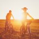 bike-ride-at-the-sunset